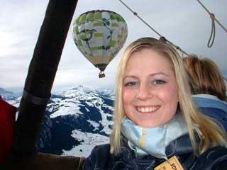 Air first balloon hot